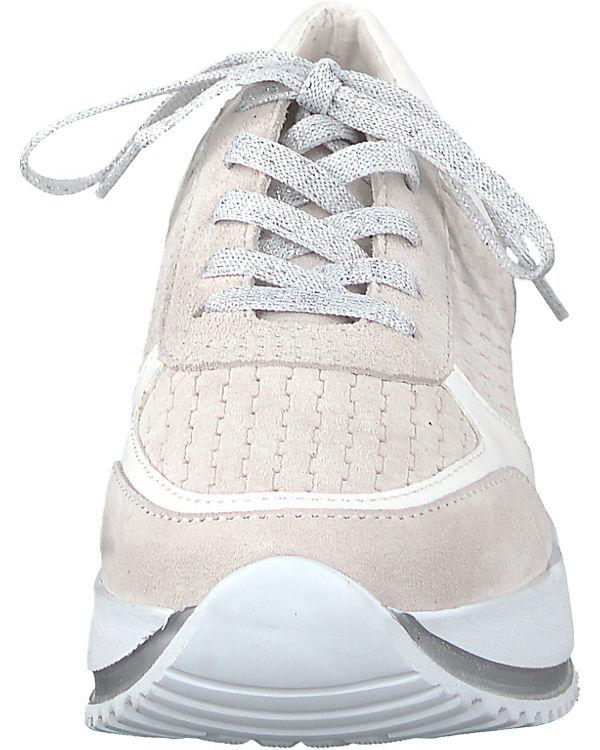 Tamaris weiß Sneakers weiß Sneakers kombi Low Low Tamaris UgUqOw