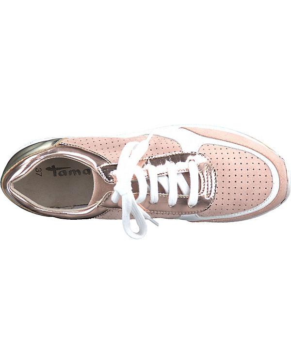 Tamaris Sneakers Low rosa-kombi