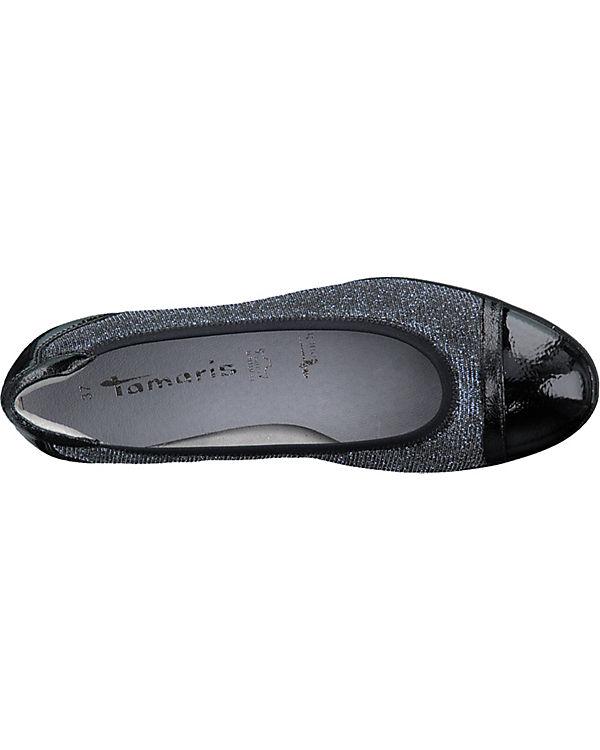 Tamaris Tamaris Ballerinas Klassische Tamaris schwarz kombi schwarz Ballerinas kombi Klassische XxSTqrfXw