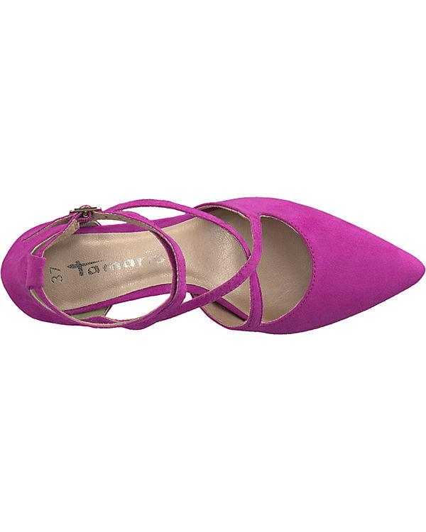 Tamaris pink Spangenpumps Spangenpumps Tamaris pink gxq6rga