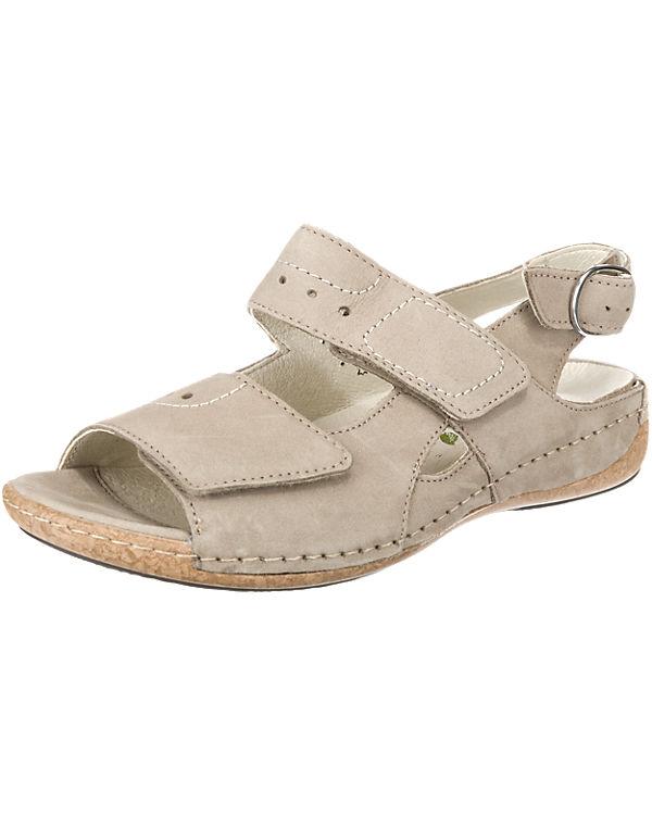 WALDL脛UFER Heliett Komfort-Sandalen beige