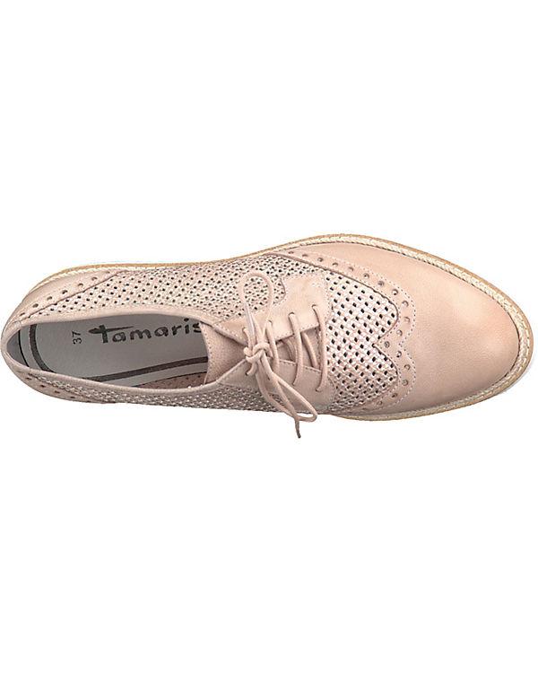 Tamaris Schnürschuhe rosa