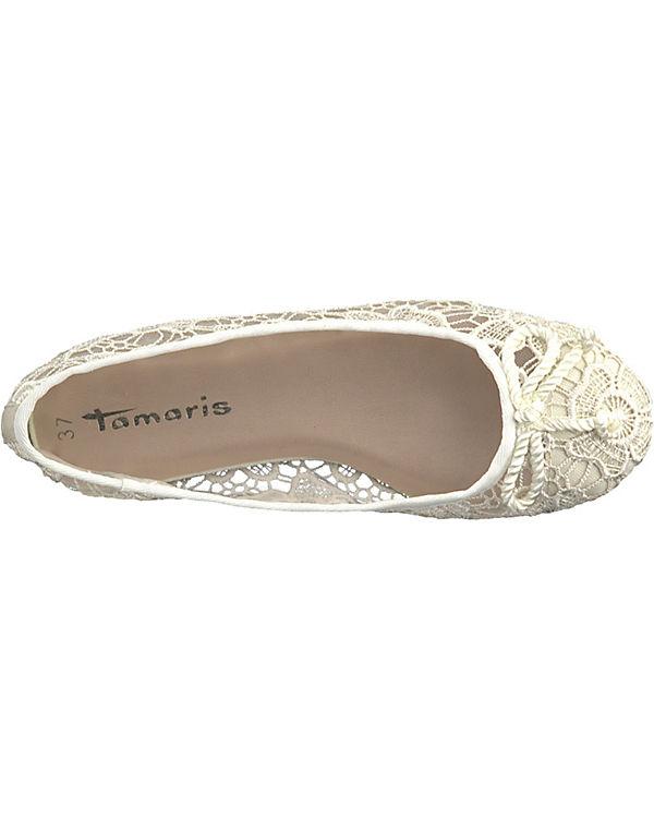 Ballerinas Klassische beige beige Klassische Tamaris Tamaris Ballerinas Tamaris YqBH5w