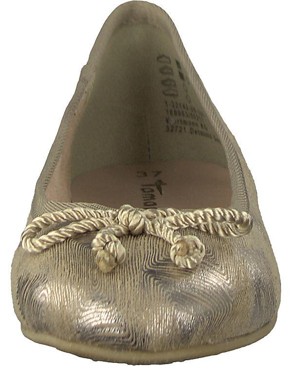 kombi Tamaris Ballerinas Tamaris Klassische Klassische Ballerinas gold gold nXwXF0Ataq