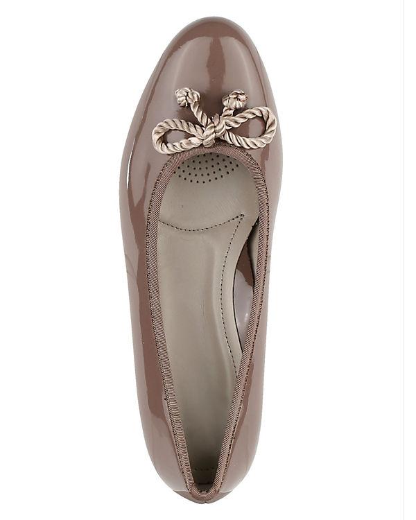 JENNY Klassische Ballerinas braun