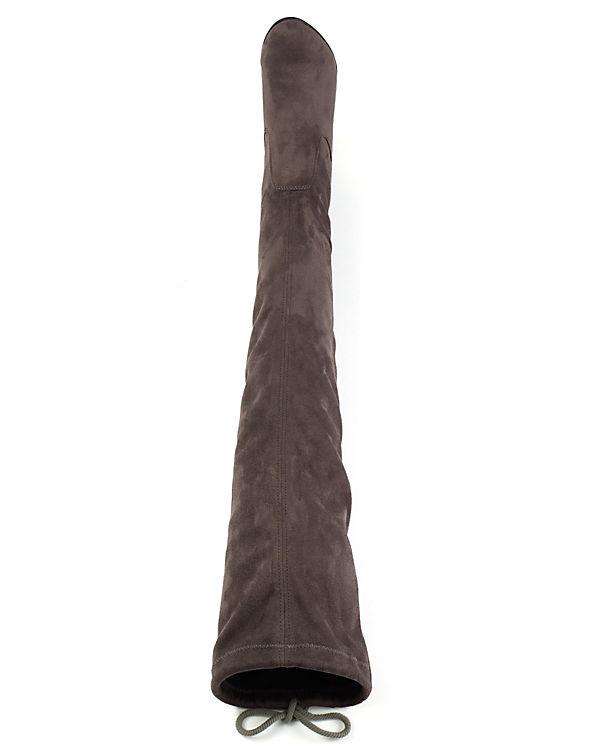 CAPRICE CAPRICE Overknee Stiefel dunkelgrau dunkelgrau CAPRICE Stiefel Overknee Overknee TwBarTq