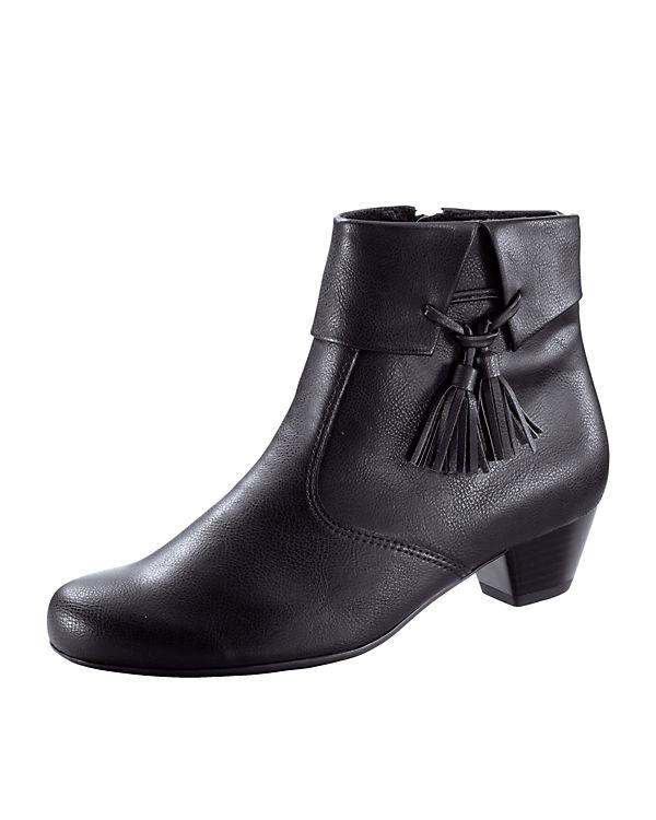 JENNY Ankle Boots schwarz