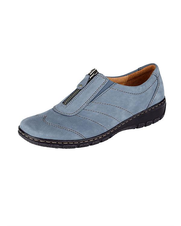 JENNY Komfort-Slipper blau