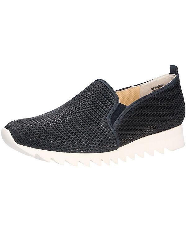 Paul Green Komfort-Slipper blau
