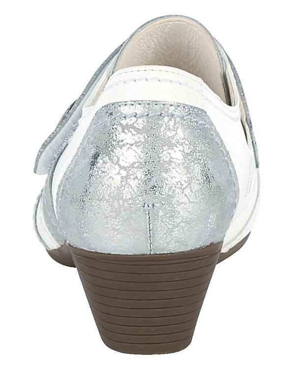 Naturläufer Spangenpumps weiß