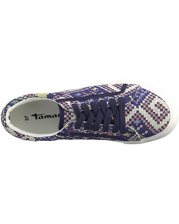 Tamaris blau Sneakers Sneakers Tamaris Low Low Tamaris kombi blau kombi Pw4O8fqWX