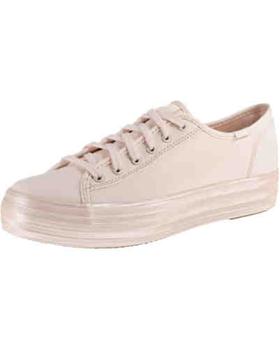 TPL Kick Shimmer Canvas Pink Sneakers Low