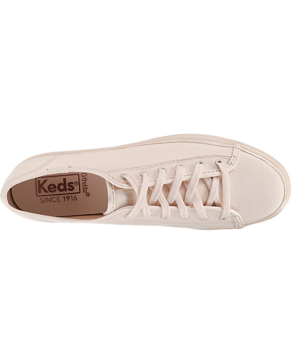 Low Keds TPL Pink Canvas Sneakers Shimmer Keds Kick rosa TPL YH8vnWZq8
