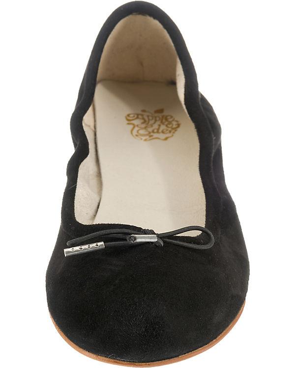 Apple Eden, of Eden, Apple LIZ Klassische Ballerinas, schwarz 811a88