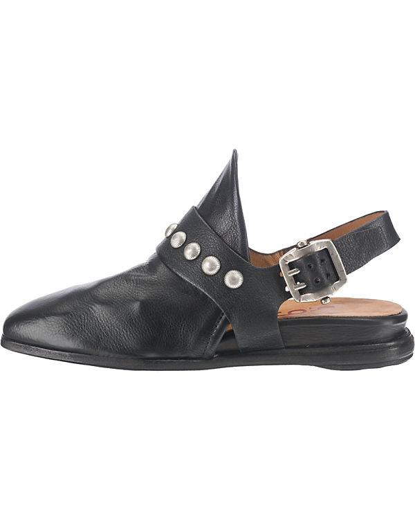 Klassische S A schwarz 98 Pantoletten q6HA7p