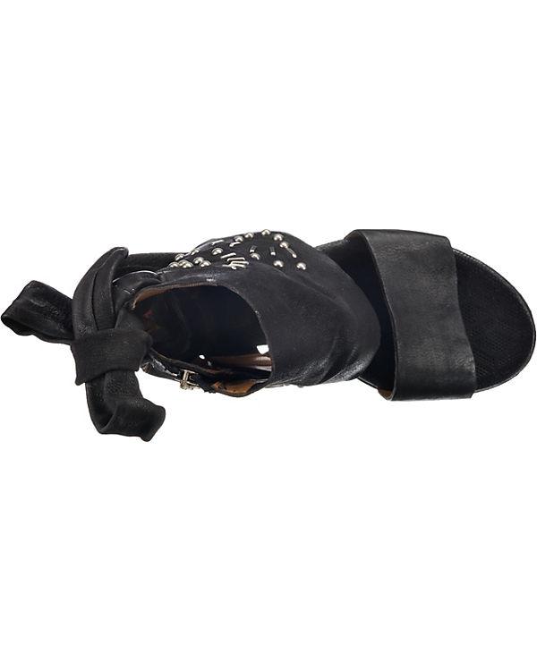 A S schwarz Schaftsandaletten 98 A 98 Schaftsandaletten S schwarz A A S 98 schwarz Schaftsandaletten zvaYq