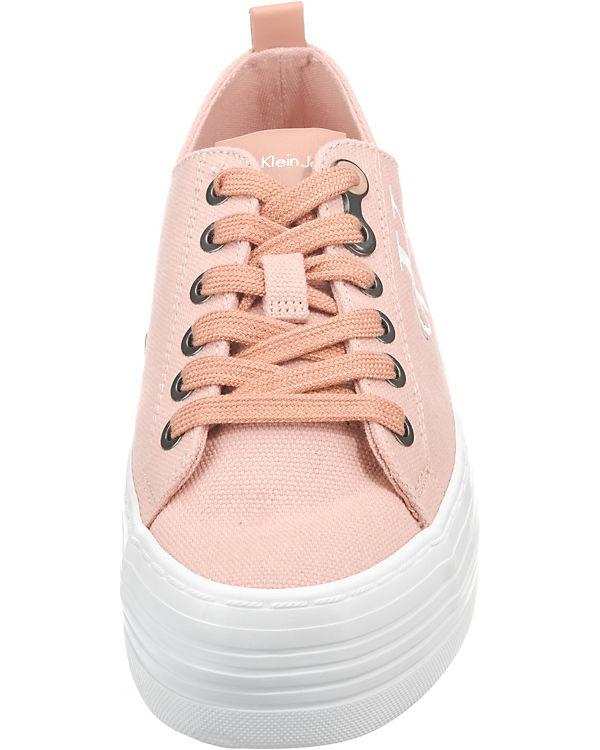 CALVIN KLEIN JEANS, rosa ZOLAH CANVAS Sneakers Low, rosa JEANS, 2d6528
