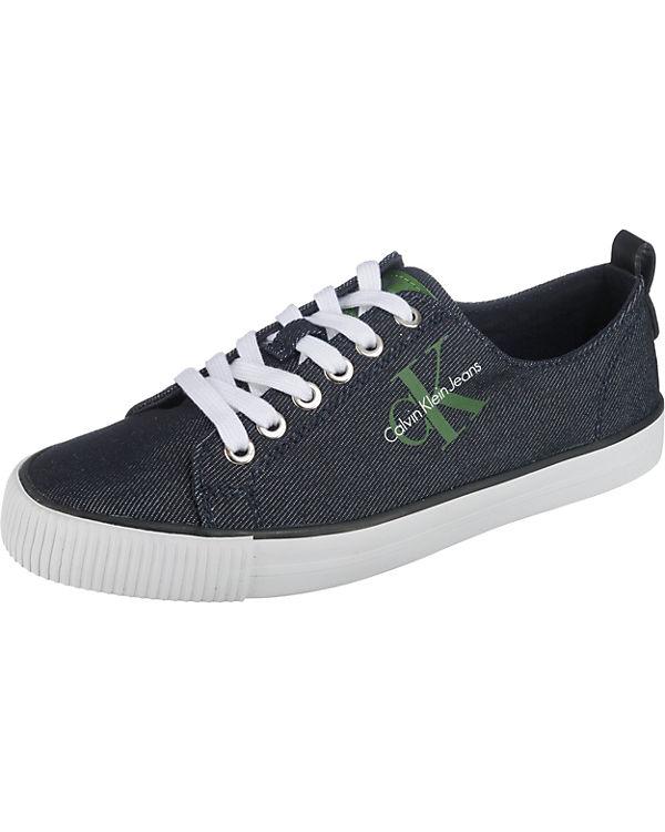 CALVIN KLEIN JEANS DORA DENIM Sneakers Low blau
