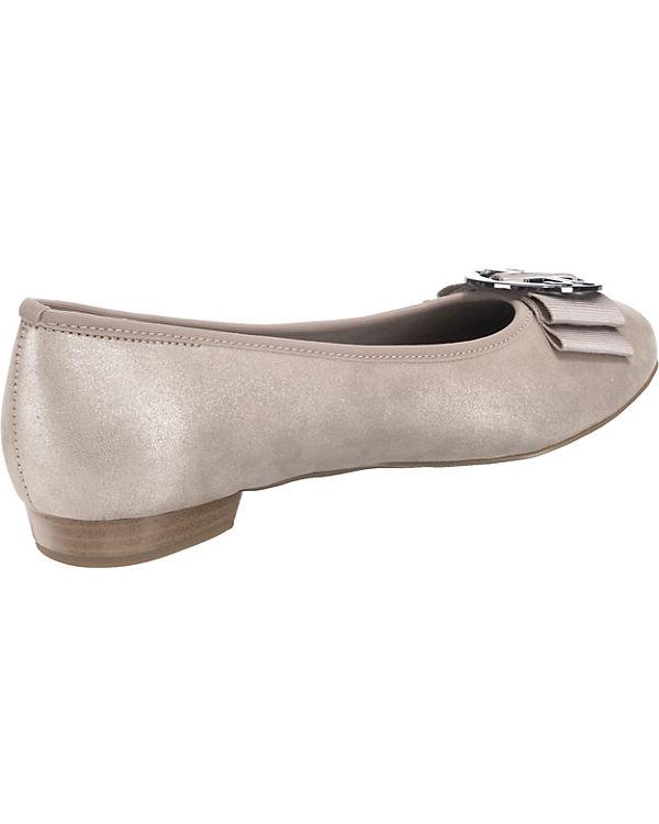 JENNY Pisa Klassische Ballerinas grau