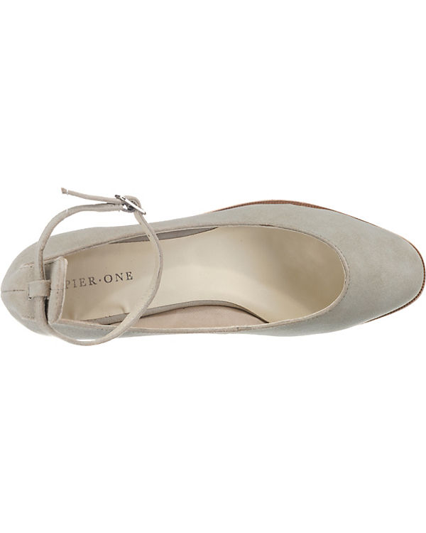 Pier Pier One Klassische One Pumps grau rxr8nqw5d1