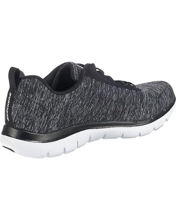 SKECHERS Flex Appeal 2.0 Sneakers Low schwarz-kombi