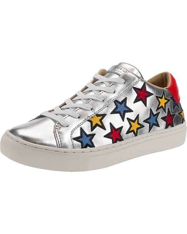Street Sneakers Low SKECHERS Side Side Embroidery silber Star FwcWU5aWq