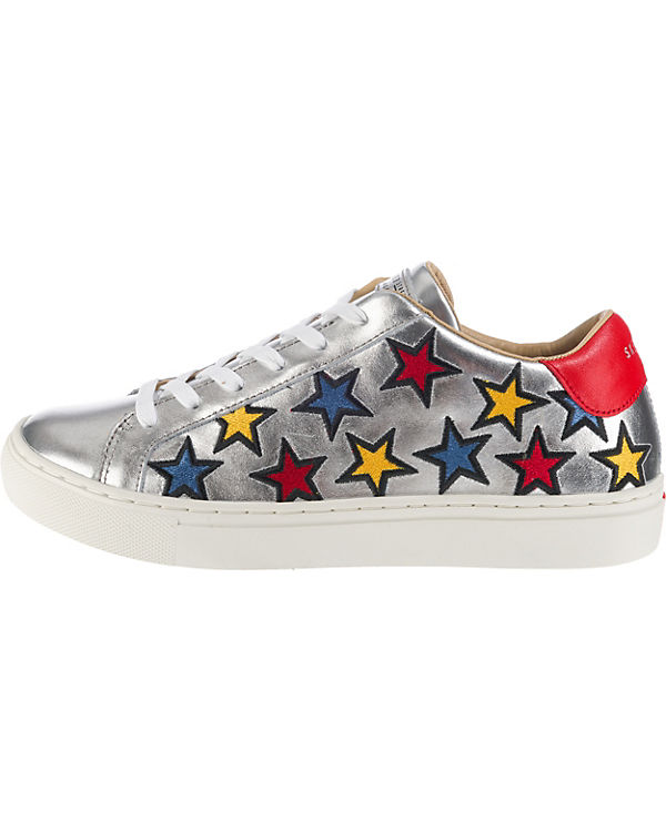 SKECHERS Side Street Star Side Embroidery Sneakers Low weiß-kombi