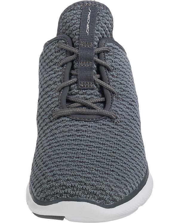 Move Bold 2 grau Low kombi Appeal 0 Flex SKECHERS Sneakers wXTqAA