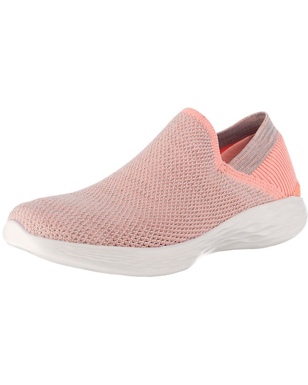 SKECHERS You Rise Sneakers Low rosa