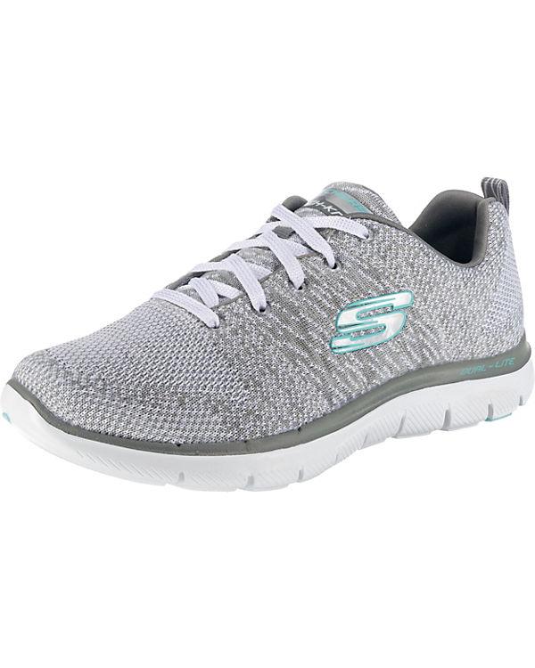 SKECHERS, Flex Energy Appeal 2.0 High Energy Flex Sneakers Low, grau a6710a