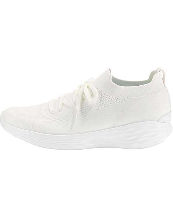 SKECHERS Low You Sneakers weiß Shine CqxPqZwzp