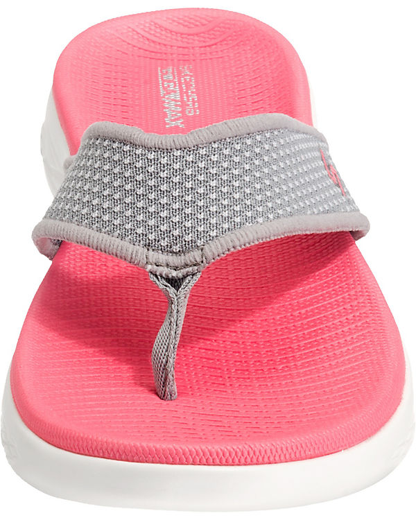 600 SKECHERS On the go pink Zehentrenner tffrzqw