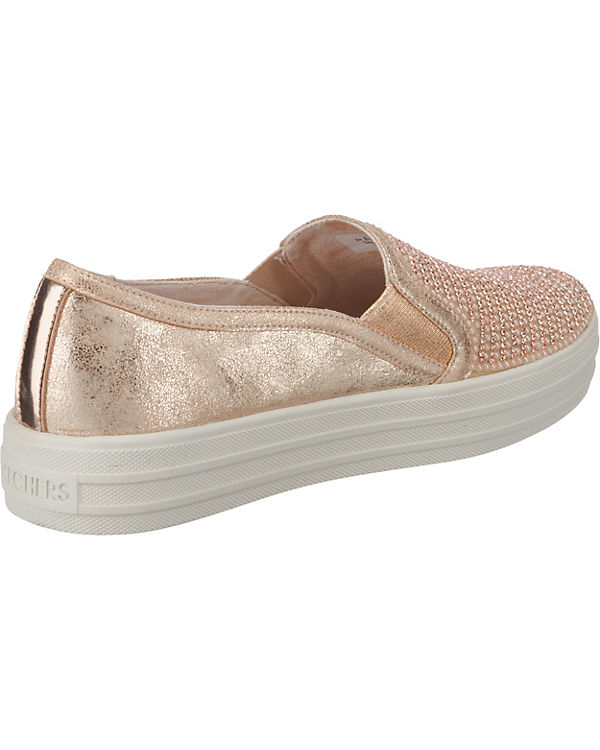 SKECHERS, Double Dancer Up Shiny Dancer Double Sneakers Low, rosa cd7585