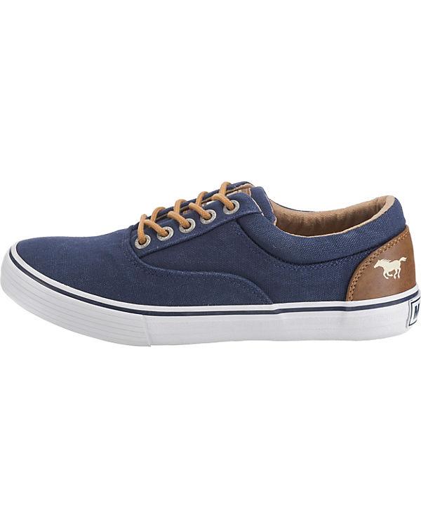 MUSTANG MUSTANG MUSTANG Sneakers Sneakers dunkelblau Sneakers Low dunkelblau Low qXBxzw4