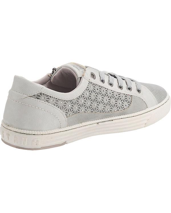 MUSTANG Sneakers Low silber