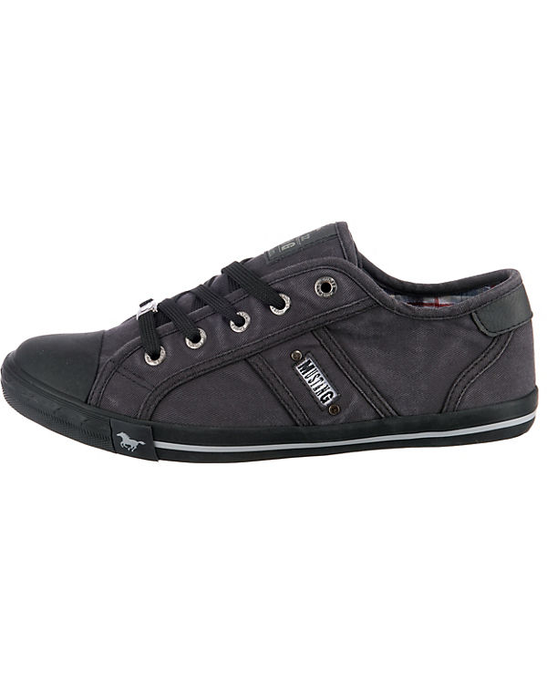 MUSTANG Sneakers Low graphit