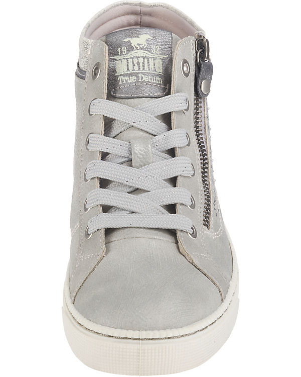 MUSTANG Sneakers High grau