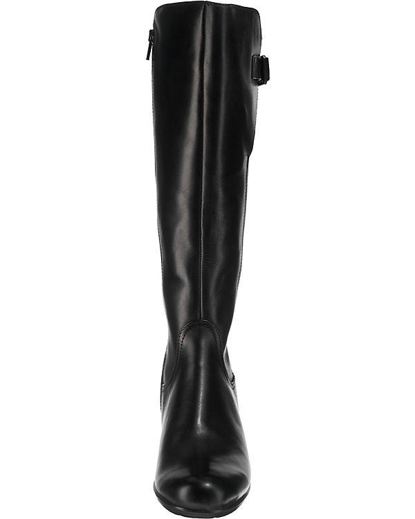 Stiefeletten ecco schwarz Black Dress Touch 55 Dress Klassische Touch 55 B Black B ecco q7rqfFA4