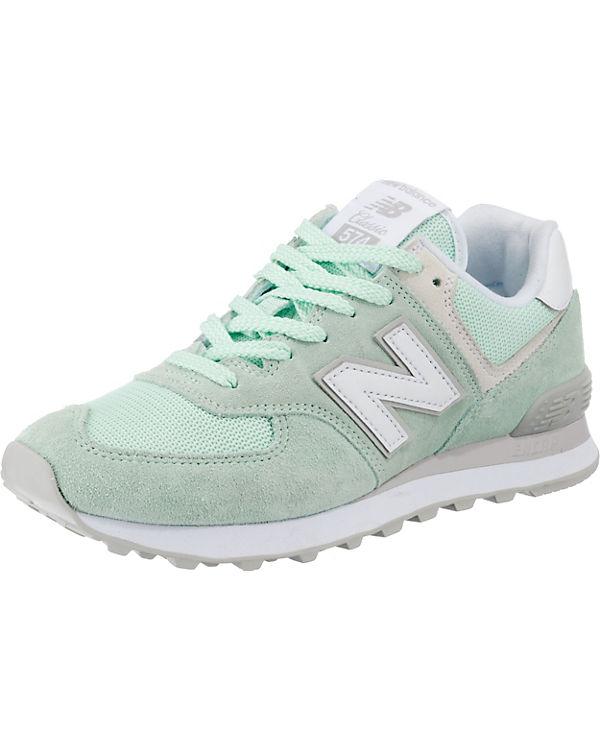 new balance, B WL574 B balance, Sneakers Low, grün 6b5ee8