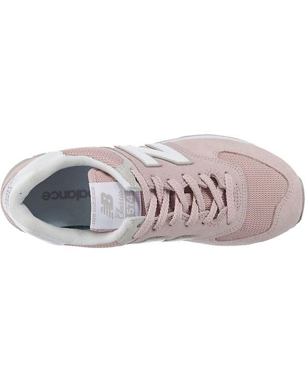 Low new balance Sneakers new B balance rosa WL574 qxg5YR1qwE