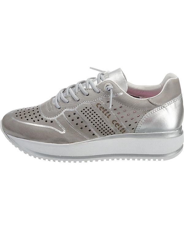 weiß weiß Sneakers Low Low Sneakers Cetti Cetti Low Cetti Sneakers wn0tz