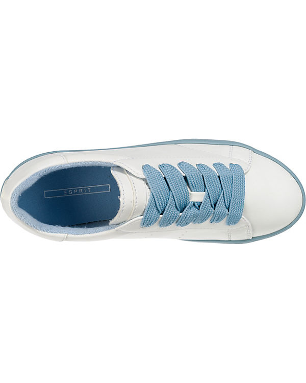 up Sneakers Mindy ESPRIT Lace hellblau Low qF1vEOw