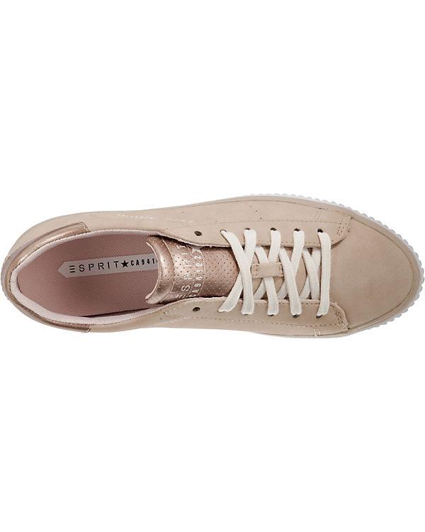 Aus Deutschland Verkauf Online ESPRIT Riata Lace up Sneakers Low beige Billig Verkaufen Neu Auslass Sast 508h36Qj