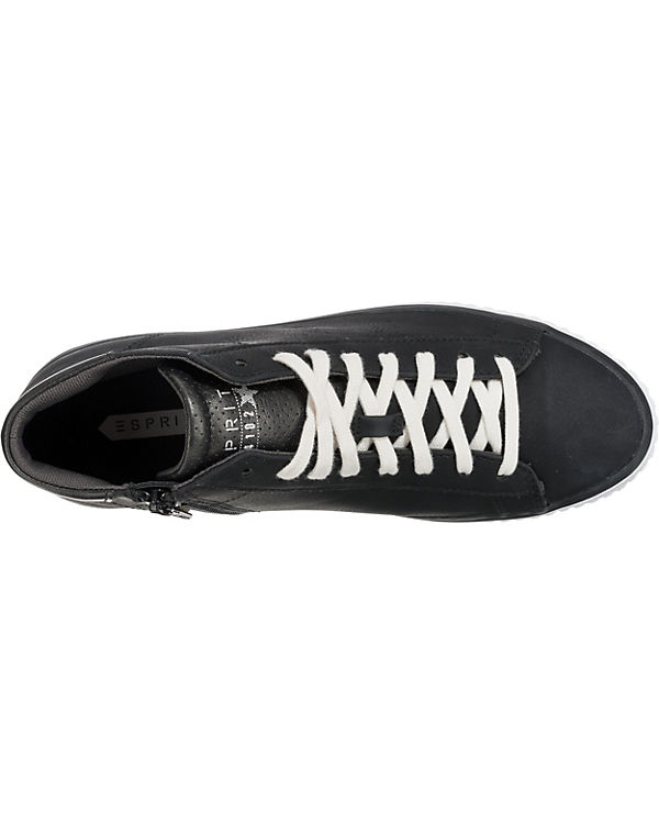 ESPRIT Riata Bootie Sneakers High schwarz