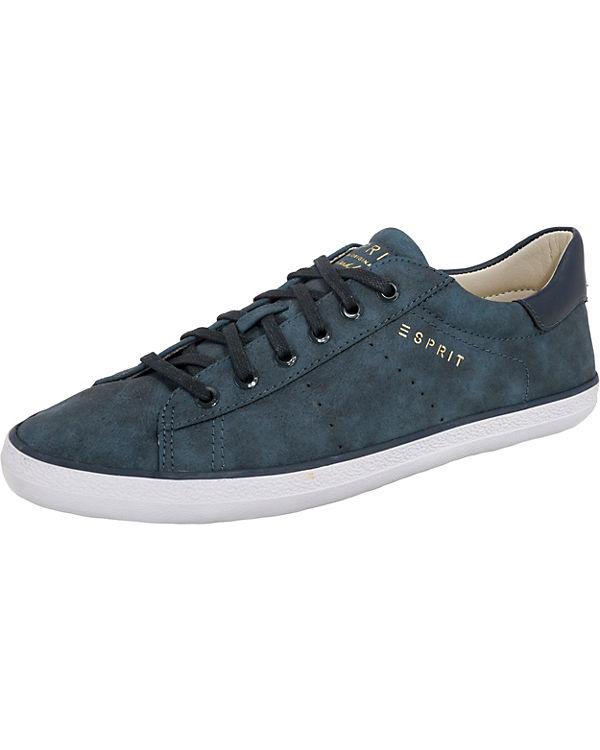 ESPRIT Miana Lace up Sneakers Low blau