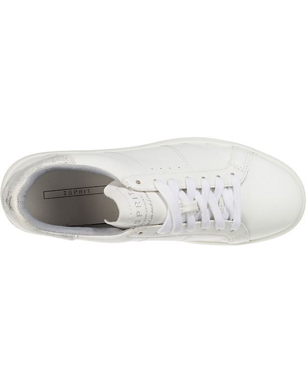 ESPRIT Elda Lace up Sneakers Low silber
