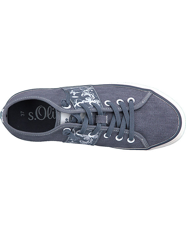 s.Oliver Sneakers Low blue denim