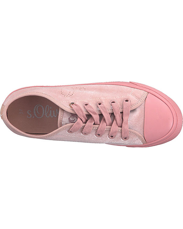 s.Oliver Sneakers Low rosa