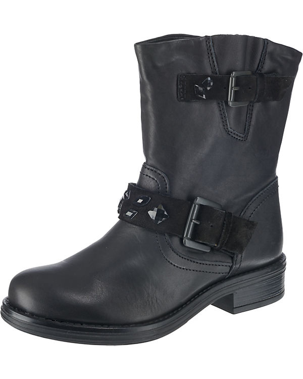 schwarz Biker Boots BULLBOXER Biker schwarz BULLBOXER Biker Boots schwarz BULLBOXER Boots qUUvgFr