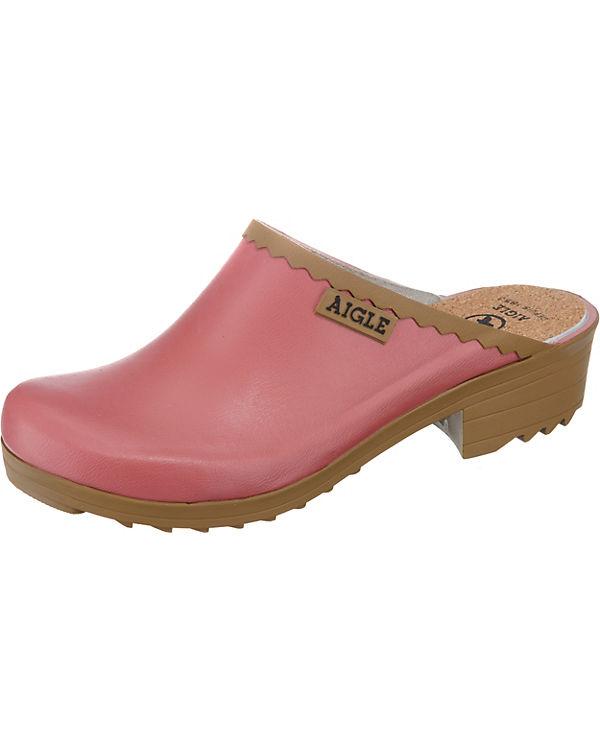 AIGLE VICTORINE SAB Clogs pink
